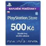 Predplatená karta Sony PSPGO, PS VITA, PS3, PS4, PSP v hodnotě 500,- kč (PS719235699)