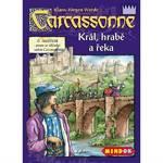 Stolná hra Mindok Carcassonne - rozšíření 6 (Král, hrabě a řeka)