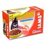 Kapsička Iams Cat Adult Multipack 12ks