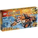 Stavebnica Lego CHIMA 70224 Mobilní velitelství tygrů