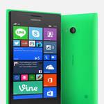 Mobilný telefón Nokia Lumia 730 Dual Sim - bright green (A00021635) zelený
