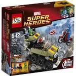 Stavebnica Lego Super Heroes 76017 Captain America vs. Hydra