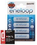 Batéria Sanyo Eneloop AA 1900 mAh - nabíjecí tužkový článek Ni-Mh HR-3UTG-4BP 4ks