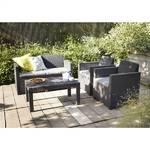Záhradný nábytok DOMO Garden MERANO šedá + šedá sivý