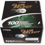 Loptičky na stolný tenis Stiga Select biele