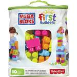 Stavebnica Mega Bloks First Builders Big Building bag unisex 60ks