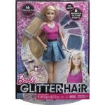 Barbie Mattel třpytivé vlasy