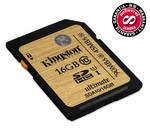 Pamäťová karta Kingston SDHC Ultimate 16GB UHS-I U1 (SDA10/16GB)