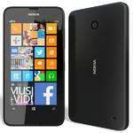 Mobilný telefón Nokia Lumia 630 (A00018432) čierny