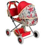 Kočiarik pre bábiky Alltoys Zuzia ATX červený