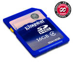 Pamov karta Kingston SDHC 16GB Class4 (SD4/16GB)