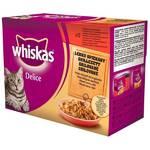Kapsička Whiskas Delice grilované 12pack
