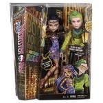 Bábika Mattel Monster High Bloodway Cleo a Deuce 2pack
