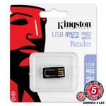 Čítačka pamäťových kariet Kingston MicroSD Gen 2 (FCR-MRG2) čierna