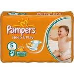 Plienky Pampers Sleep&amp;Play Plenky Pampers Sleep &amp; play, 5 junior, 42 ks