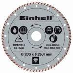 Kotúč diamantový Einhell 200x25,4 mm k řezačkám TPR 200/2 a RT-SC 560 U