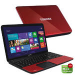 Notebook Toshiba Satellite C855-22Q (PSCBWE-08801FCZ) erven