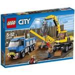 Stavebnica Lego City Demolition 60075 Bagr a náklaďák