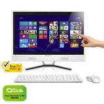 PC all in-one  Lenovo IdeaCentre C560 (57322366) biely