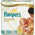 Plenky Pampers Premium Care Premium Care Newborn vel. 1, 78 ks