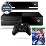 Herná konzola Microsoft Xbox One 500GB Kinect CZ + hra Dance Central Spotlight (7UV-00114) čierna