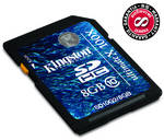 Pamov karta Kingston SDHC 8GB Ultimate X Class10 (SD10G2/8GB)