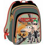 Batoh detský Sun Ce Disney s přední kapsou Disney Phineas and Ferb
