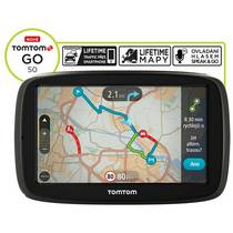 Navigačný systém GPS Tomtom GO 50 Europe LIFETIME (1FC5.002.06) čierna