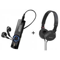 Odtwarzacz MP3 Sony NWZ-B173F + słuchawki MDR-ZX100B