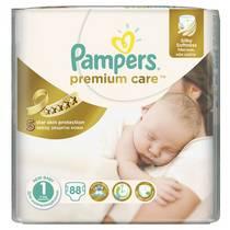 Plienky Pampers Premium Care Premium Care Newborn vel. 1, 88 ks