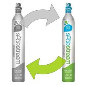 Příslušenství k výrobníkům sody SodaStream náhradný plyn CO2 (výměna bombičky)