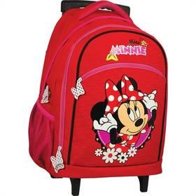 Sun Ce na kolečkách - Disney Minnie červený