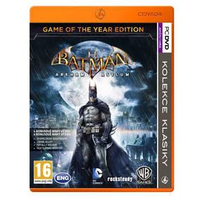 Hra Ostatní PC Batman: Arkham Asylum Game of the Year (428352)