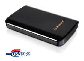 Externí pevný disk 2,5 Transcend 750GB USB 3.0 TS750GSJ25D3 černá barva  + Pouzdro na HDD za zvýhodněnou cenu