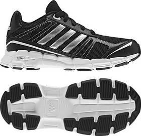 Adidas adifast K - vel. 6 UK černá/stříbrná/bílá