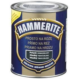 Farba Hammerite přímo na rez, hladký tmavě zelený