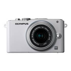 Digitálny fotoaparát Olympus E-PL3 Kit 14-42mm 1:3.5-5.6 II R strieborný/biely
