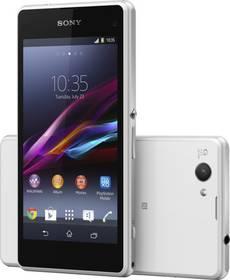 Mobilný telefón Sony Xperia Z1 Compact D5503 (1280-7983) biely