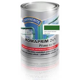 Farba Hammerite Komaprim 2v1 přímo na rez, středně zelený