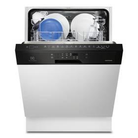 Umývačka riadu Electrolux ESI6510LOK čierna