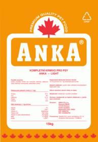 Granule ANKA Light 15 kg , pro psy s nadváhou