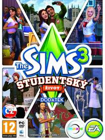Hra EA PC The Sims 3 Studentský život (EAPC05121)
