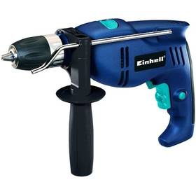 Vrtačka ruční Einhell BT-ID 710, příklepová  modrá barva  + sada bitů Levior, 33ks za zvýhodněnou cenu
