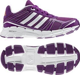 Adidas adifast K - vel. 6 UK bílá/fialová