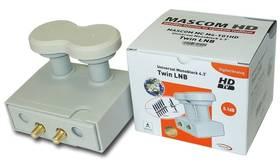 Konvektor Mascom LNB-MCM4T01HD biely
