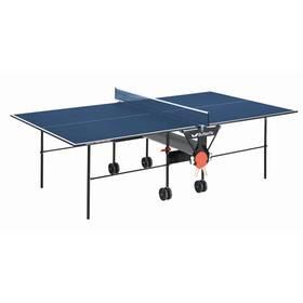 Stôl na stolný tenis Butterfly Korbel Roller se síťkou modrý