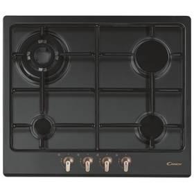 Plynová varná deska Candy CPGC 64 SQP GH  černá barva  + Příslušenství k varným deskám za zvýhodněnou cenu