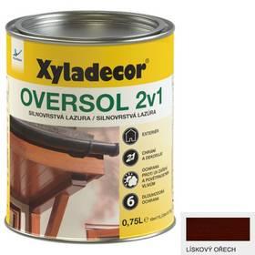 Lazúra na drevo Xyladecor Oversol 2v1 lískový ořech
