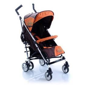 Kočárek golfové hole Babypoint Picaso  oranžová barva