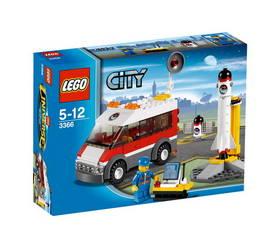 Stavebnice LEGO CITY Odpalovací rampa pro satelity 3366